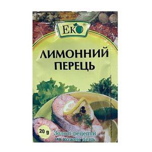 Приправа Лимонный перец 20г