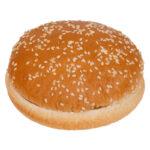 Булочка бутербродная кругдая с кунжутом 82г