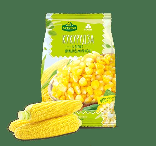 "Кукуруза в зернах ТМ""Хуторок""400г"
