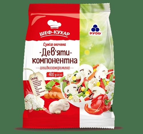 """Смесь Девяти-компонентная ТМ""""Рудь"""" 400г"""