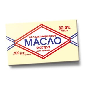 Масло Крестянская коровка 72.8% 200г Чутянка