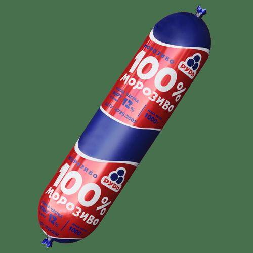 100% морозиво 1000г