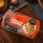 Хлеб Львовский заварной с семечками 450г ТМ AGROLA