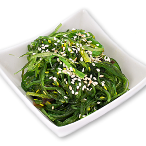 Салат из водорослей вакаме с кунжутом 150г.