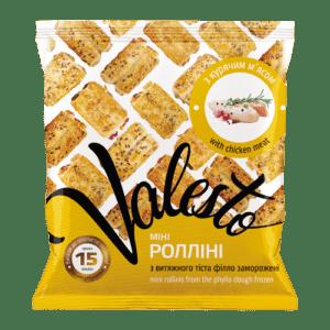 МИНИ-Роллини с курицей  ТМ Valesto 800г
