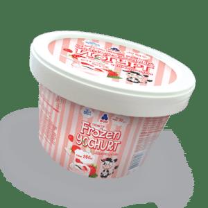 Замороженный йогурт с клубникой 90г