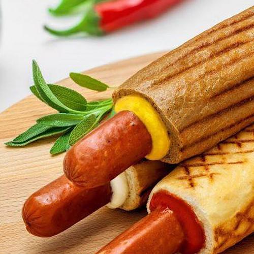 Колбаски Французкие D26/L22 ТМ Тульчин для Хот-дога 630г (6шт)