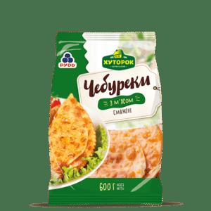 """Чебуреки с мясом ТМ """"Рудь"""" 600г"""