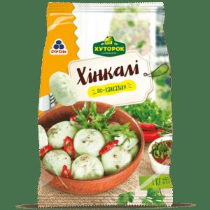 """Хинкали «По-Кавказски» ТМ """"Рудь"""" 1кг"""