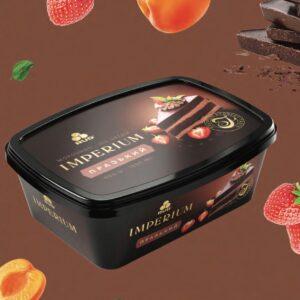 Мороженое торт IMPERIUM Красный бархат ТМ Рудь 500г