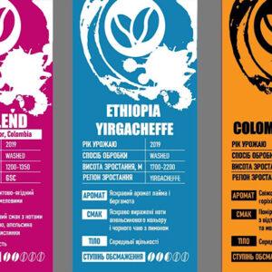 Кофе в зернах Колумбия Декаф 250г