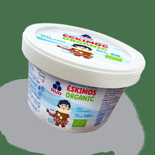 """Мороженое в бумажном стаканчике """"Эскимос-ORGANIC"""" ТМ Рудь 90 г"""