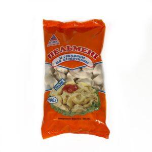 Вареники с картошкой, луком и шкварками ТМ Полюс Изобилия 500г