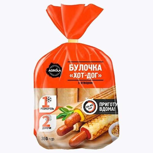 Булочка с отверстием для хот-дога ТМ Agrola 60г (6шт)