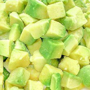 Авокадо кубик замороженный 1кг
