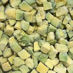 Авокадо кубик сорт Хаас (Перу) 15*15 2.5кг