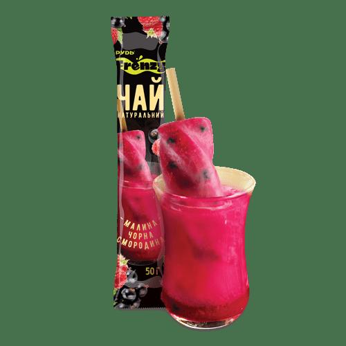 Витаминный чай малина – черная смородина ТМ Рудь 50г