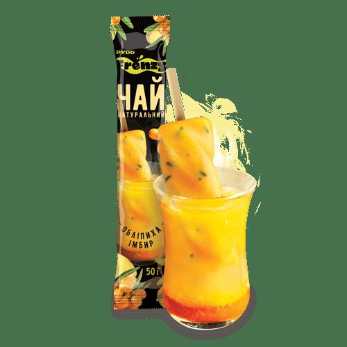 Витаминный чай облепиха-имбирь ТМ Рудь 50г