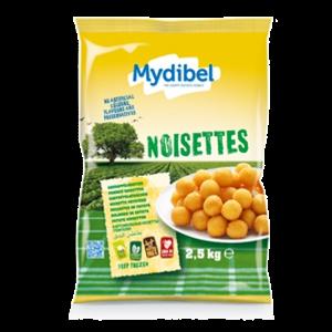 Картофель фри ТМ Mydibel Pommes Noisettes 2,5кг (Шарики)
