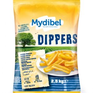 Картофель фри ТМ Mydibel Dipper 2,5кг