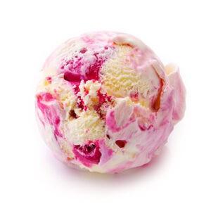 Мороженое пломбир «Малиновый пирог» ТМ Рудь 1650г