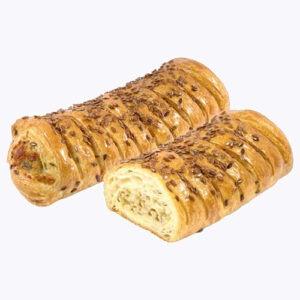 Бурекас грибы, курица и сыр ТМ Хлебпром 120г (35шт)