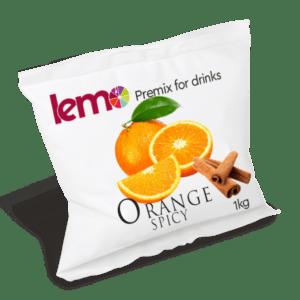 Пюре Пряний апельсин ТМ Lemo 1кг